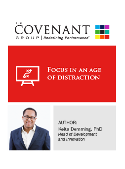 TCG Focus in an Age of Distraction