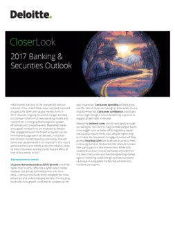 2017 Banking and Securities Outlook