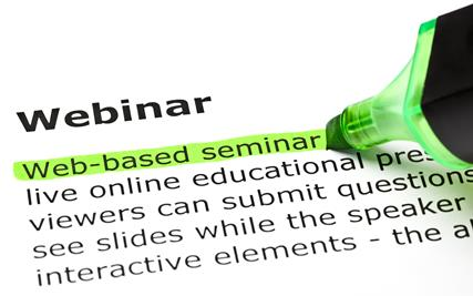 Webinars Can be Beneficial, If Done Right